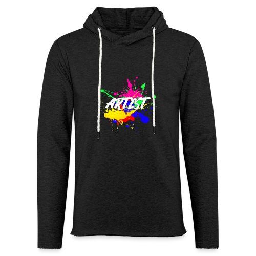 Montrez que vous êtes un Artiste International - Sweat-shirt à capuche léger unisexe
