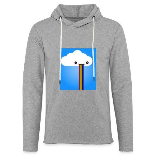 rainbow - Leichtes Kapuzensweatshirt Unisex