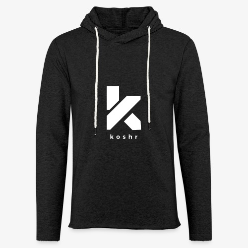 Koshr Official Logo - - Light Unisex Sweatshirt Hoodie