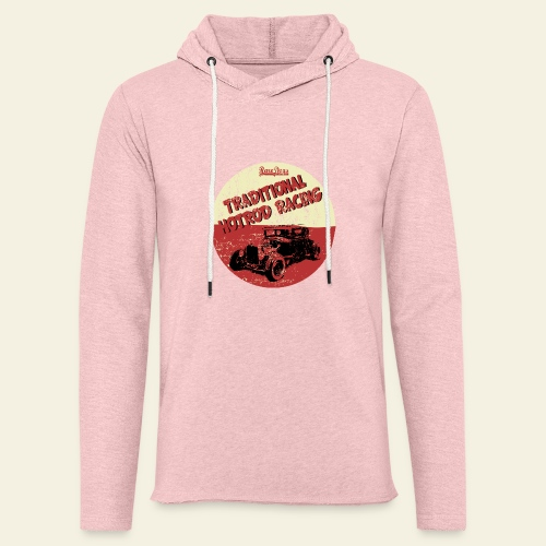hotrod racing logo - Let sweatshirt med hætte, unisex