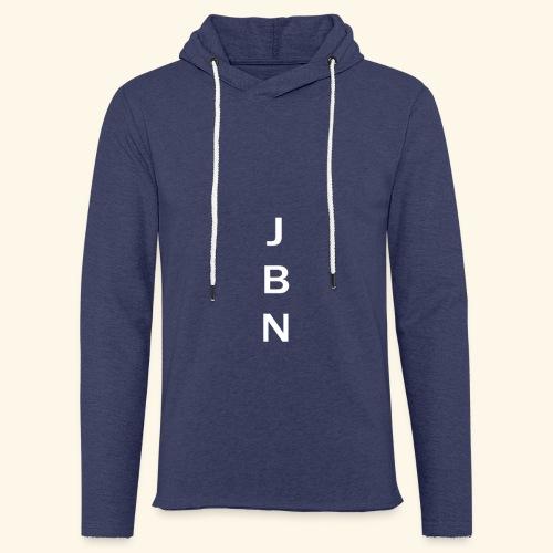 NELSON Hoodie With JBN Initials - Let sweatshirt med hætte, unisex