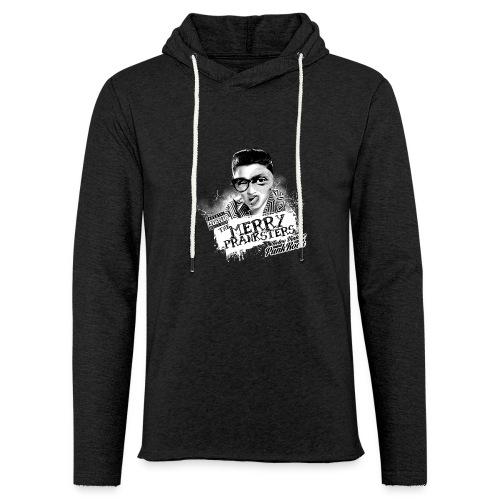 The Merry Pranksters - Woman Black T-Shirt - Light Unisex Sweatshirt Hoodie