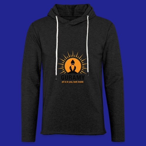final nero con scritta - Light Unisex Sweatshirt Hoodie