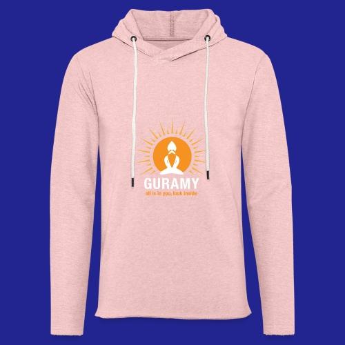 final white con scritta CORRETTO - Light Unisex Sweatshirt Hoodie