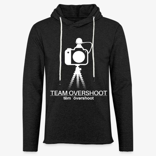Team Overshoot Gross - Leichtes Kapuzensweatshirt Unisex