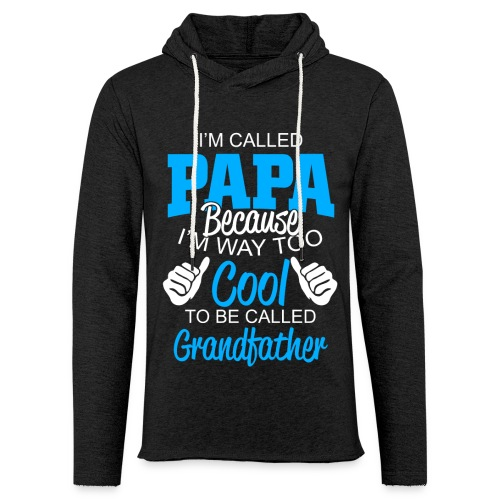 01 im called papa copy - Sweat-shirt à capuche léger unisexe