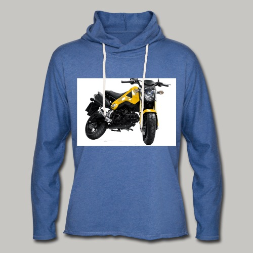 Grom Motorcycle (Monkey Bike) - Light Unisex Sweatshirt Hoodie