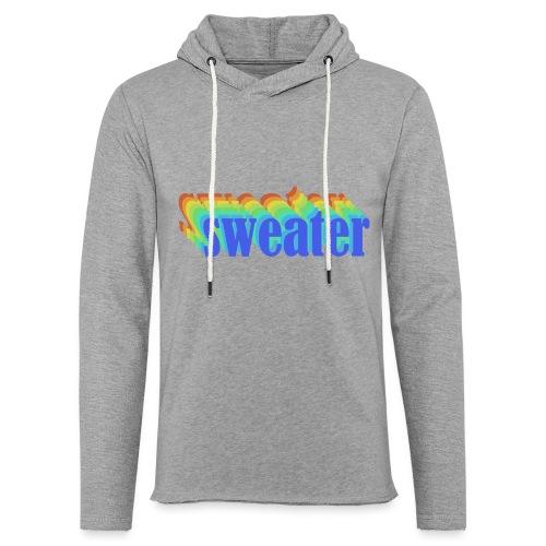 Retro simple sweater - Sweat-shirt à capuche léger unisexe