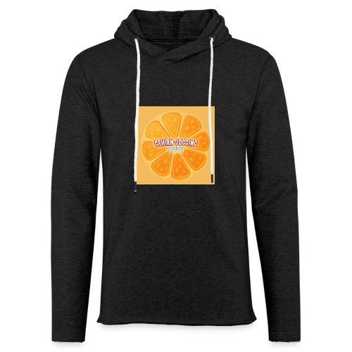 orangetextur - Leichtes Kapuzensweatshirt Unisex