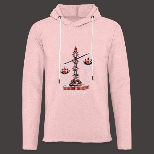 Balance Négutif - Sweat-shirt à capuche léger unisexe