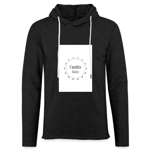 cumbia goza - Lichte hoodie unisex