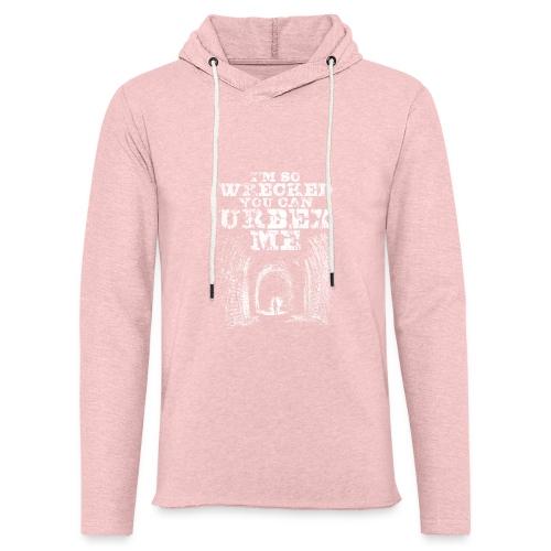 Urbex Me - Sweat-shirt à capuche léger unisexe