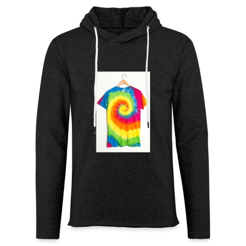 tie die small merch - Light Unisex Sweatshirt Hoodie