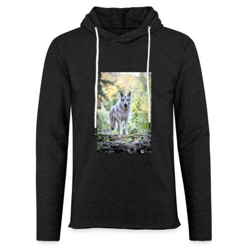 La Tanière des Chiens-Loups - Sweat-shirt à capuche léger unisexe