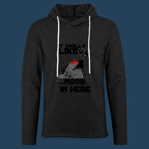 It smells like NOOB in here! - Leichtes Kapuzensweatshirt Unisex
