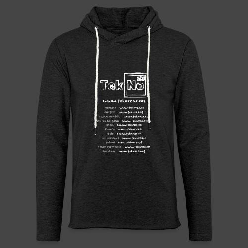 tekno23 - Sweat-shirt à capuche léger unisexe