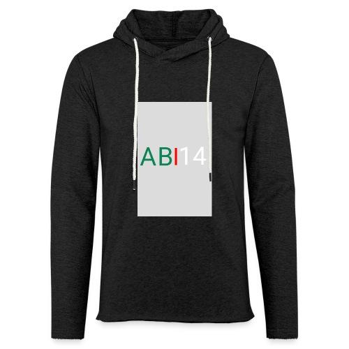 ABI14 - Sweat-shirt à capuche léger unisexe