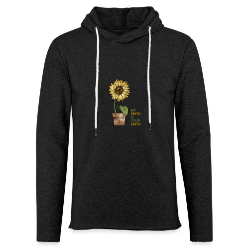 My earth is your earth - Leichtes Kapuzensweatshirt Unisex