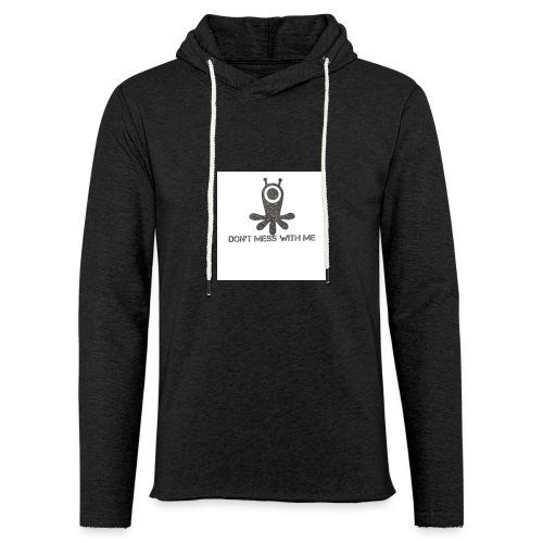 Dont mess whith me logo - Light Unisex Sweatshirt Hoodie