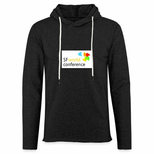 SFworldconference T-Shirts - Leichtes Kapuzensweatshirt Unisex