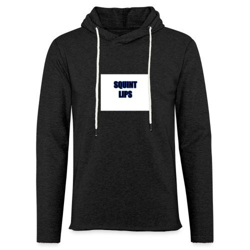 Squint Lips Merch - Light Unisex Sweatshirt Hoodie