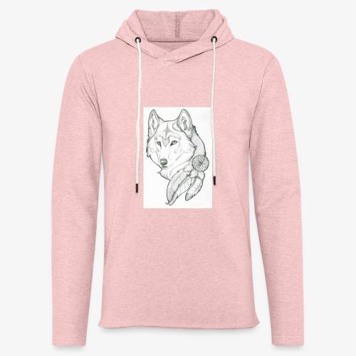 wolf - Lichte hoodie unisex