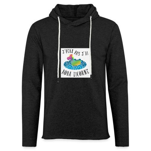 image - Sweat-shirt à capuche léger unisexe