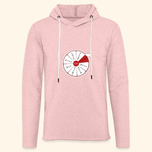 wheel of (not)fortune - Felpa con cappuccio leggera unisex