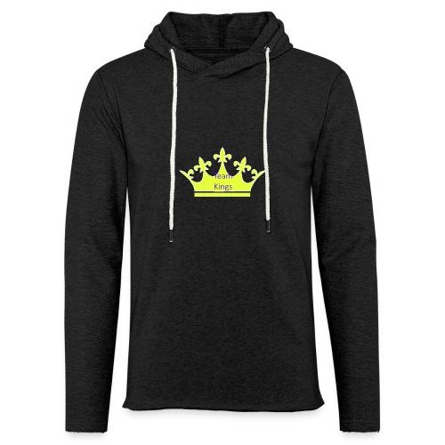 Team King Crown - Light Unisex Sweatshirt Hoodie
