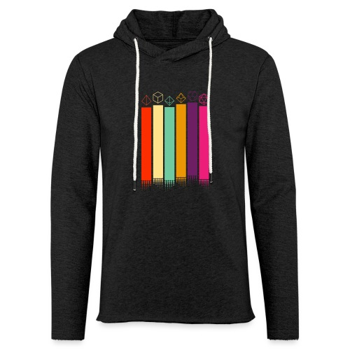 70s Dice - Light Unisex Sweatshirt Hoodie