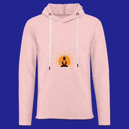 Guramylyfe logo no text black - Light Unisex Sweatshirt Hoodie
