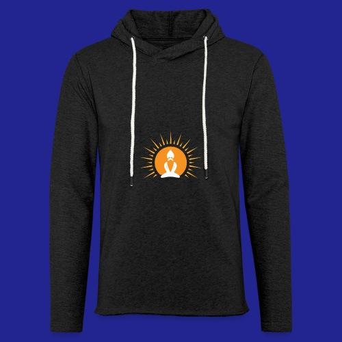 Guramylyfe logo white no text - Light Unisex Sweatshirt Hoodie