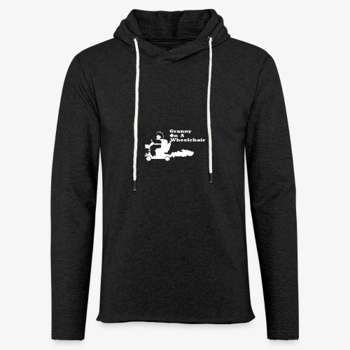 g on wheelchair - Light Unisex Sweatshirt Hoodie