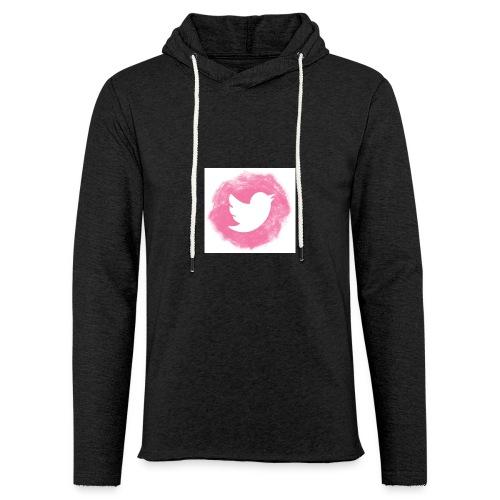 pink twitt - Light Unisex Sweatshirt Hoodie