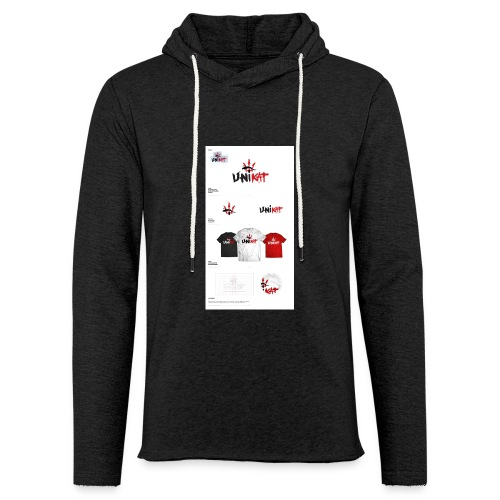 unikat_1 - Lekka bluza z kapturem