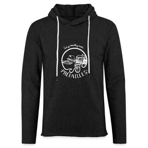 Les pêcheries de Prefailles - Sweat-shirt à capuche léger unisexe