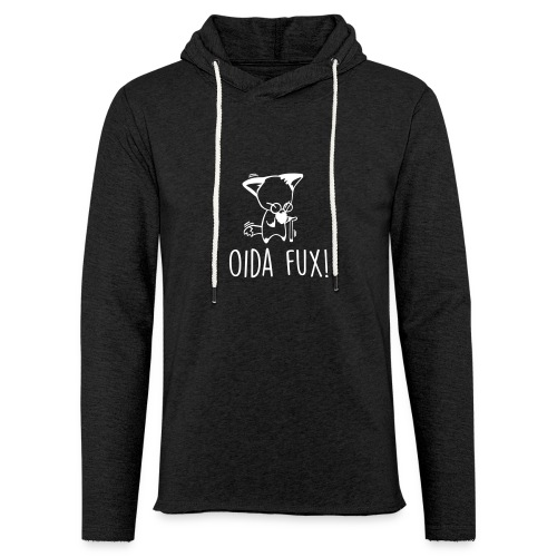 Vorschau: Oida Fux - Leichtes Kapuzensweatshirt Unisex