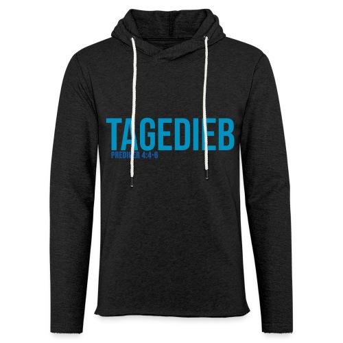 TAGEDIEB - Print in blau - Leichtes Kapuzensweatshirt Unisex