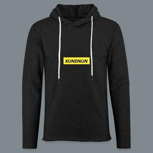 Kundnun official - Lichte hoodie unisex