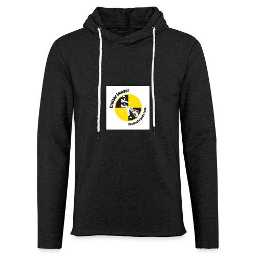 badge010 - Sweat-shirt à capuche léger unisexe