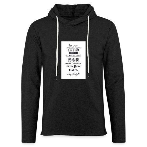 fun - Sweat-shirt à capuche léger unisexe