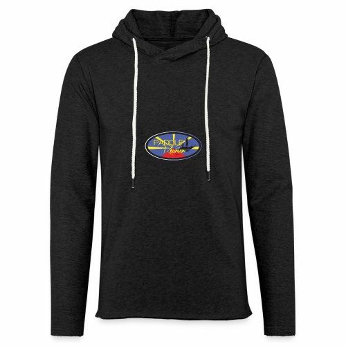 Drapeau Paddle Reunion - Sweat-shirt à capuche léger unisexe