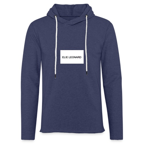 ELIE LEONARD - Sweat-shirt à capuche léger unisexe