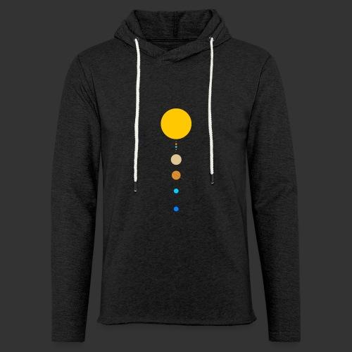 Solar System - Light Unisex Sweatshirt Hoodie