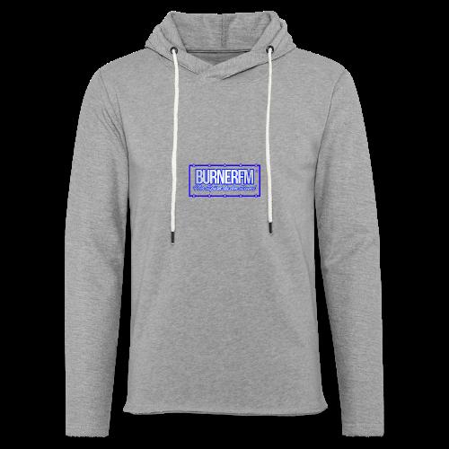 BurnerFM Hier Sürst du den Sound - Leichtes Kapuzensweatshirt Unisex