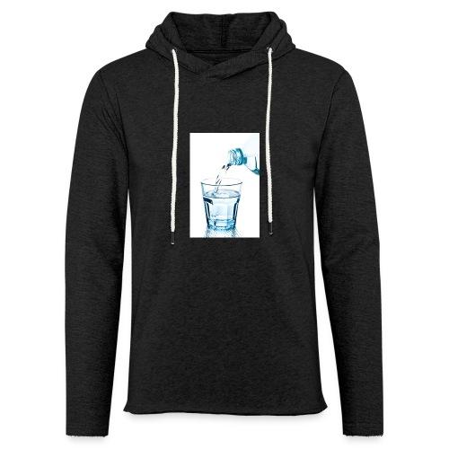 Glas-water-jpg - Lichte hoodie unisex