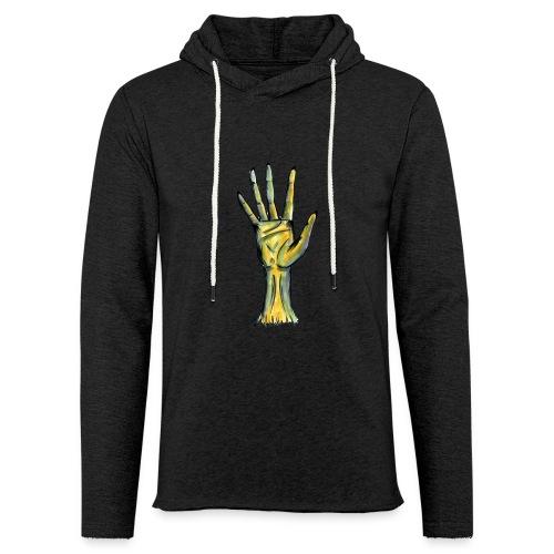 zombiehand - Leichtes Kapuzensweatshirt Unisex