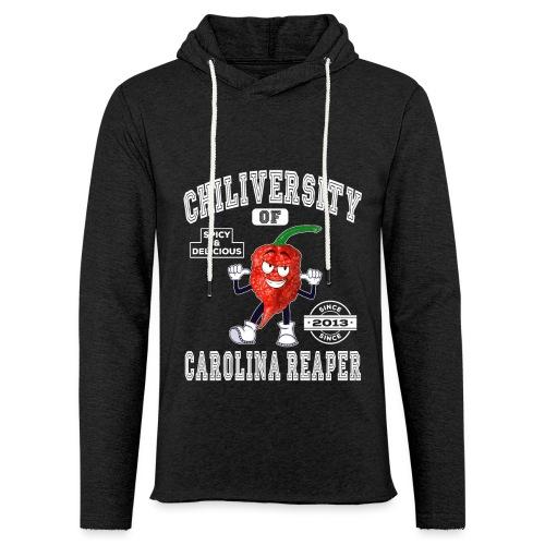 Chiliversity of Carolina Reaper - Hot & Spicy - Leichtes Kapuzensweatshirt Unisex