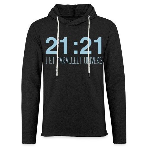 21-21-02 - Lett unisex hette-sweatshirt