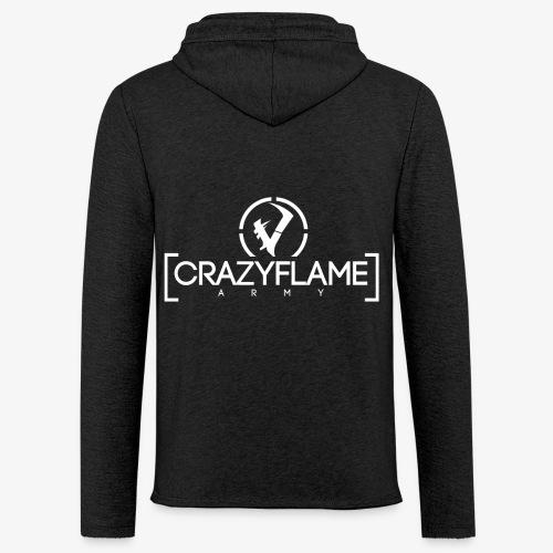 CraZyArmy Logo - Leichtes Kapuzensweatshirt Unisex